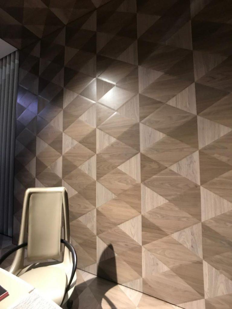 突き板の多彩なデザインパターン