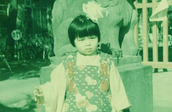柴田陽子さん子供時代